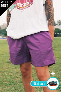 비치 컬러 하프팬츠(6color)