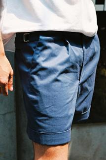 신치백 턴업 하프팬츠(3color)
