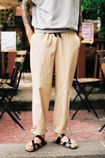 웨어러블 치노 밴딩팬츠(3color,4size)