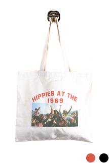 히피 그래픽 에코백(2color)