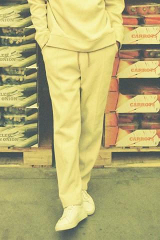 핀턱 레귤러 기모 트레이닝팬츠(3color)